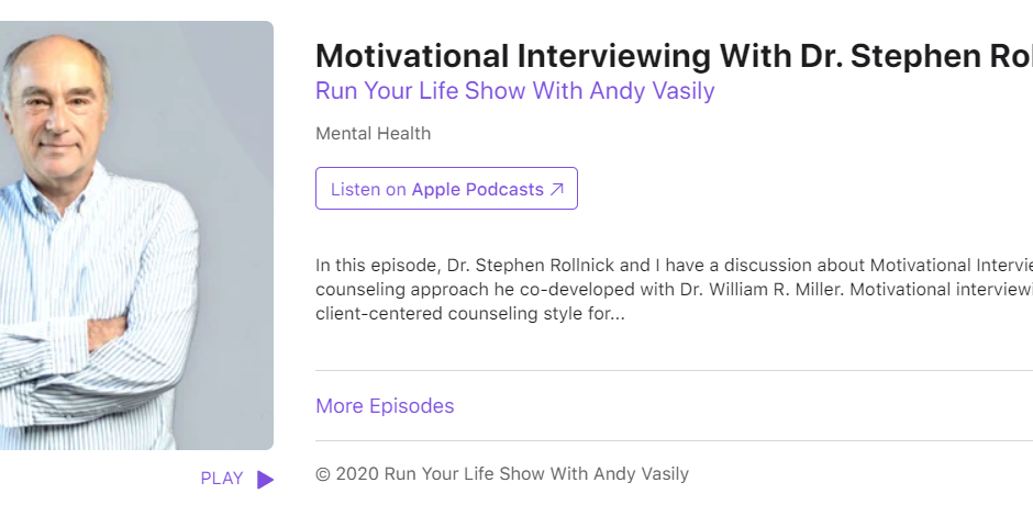 Run Your Life Show With Andy Vasily