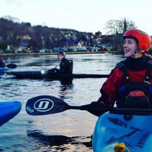 Poppy Croal Kayaking