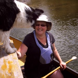 Eira with GES Canoeing