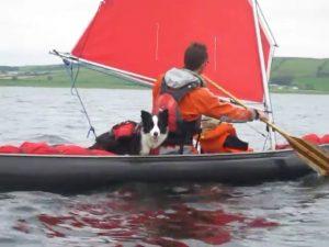 Eira Canoe Sailing